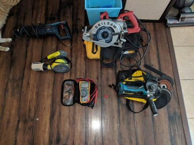 Various power tools, must sell