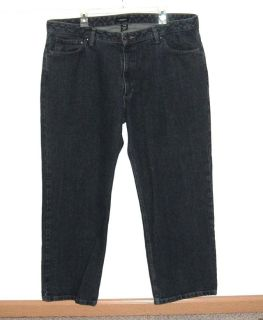 Van Heusen Relaxed Straight Leg Denim Jeans Mens 40x29 40 x 29