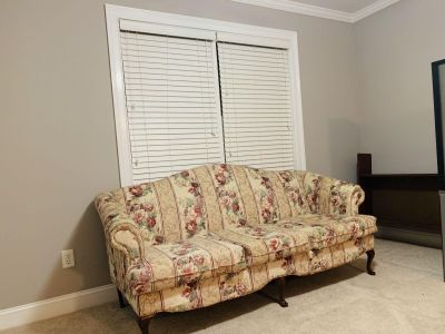 4 piece living set with ottoman
