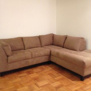 Two piece sectional couch