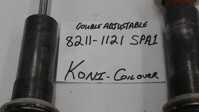 KONI DOUBLE ADJUSTABLE COILOVERS