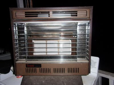 Small gas heater.