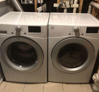 Kenmore washer/dryer with warranty less that one year old.