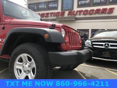 2008 Jeep Wrangler X RHD (Flame Red)