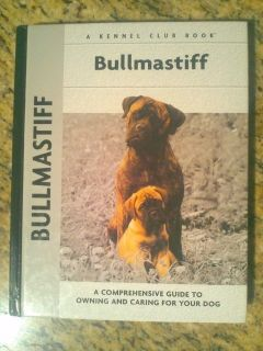Bullmastiff Book brand new/never used condition $9