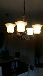 Like new dining chandelier