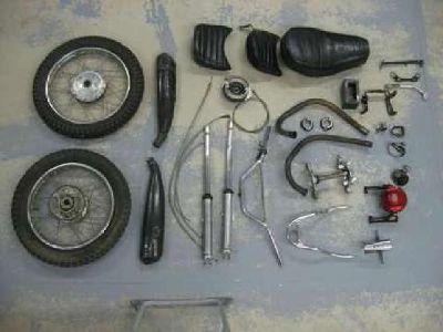 1971 Honda SL350 Parts