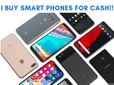 I buy smartphones, tablets, ipods, laptops etc for CASH!