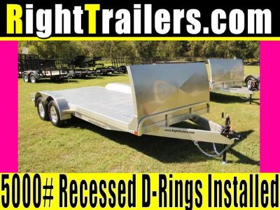 18 ATC Trailers Car Hauler w/ Gravel Guard