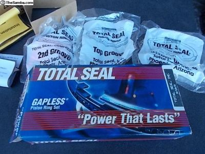 New Total Seal Gapless Ring Sets Complete