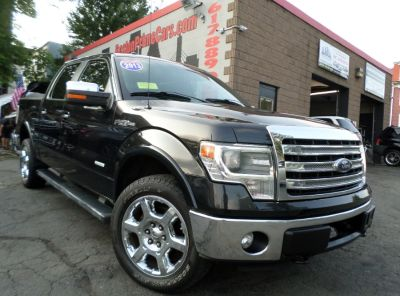 2013 Ford F-150 King Ranch (Tuxedo Black Metallic)
