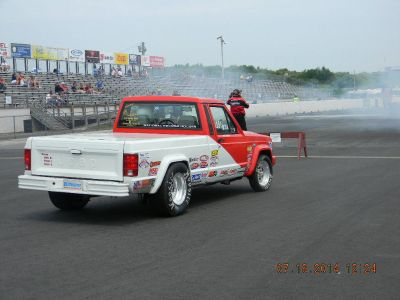 Jeep Comanche R/SA Tired of HP Hits? NHRA 1.17 under