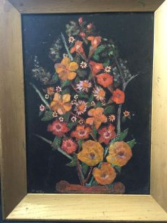 Very Old Oil Painting From Vienna Austria