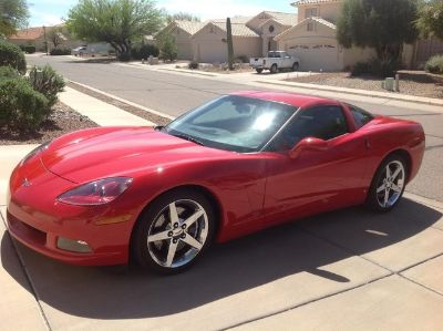 2007 Chevrolet Corvette Base (Victory Red)