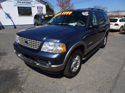 2002 Ford Explorer Eddie Bauer (Blue)