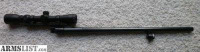 For Sale: Mossberg 20 ga Ported Cantilever Rifled Barrel Scope 20ga Deer