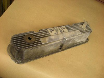 Purchase Vintage Mopar 273 318 340 360 M/T Valve Cover Small Block Cast Aluminum motorcycle in Alma, Arkansas, US, for US $24.99