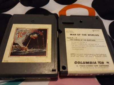 Jeff Wayne's Musical Version of The War of the Worlds by Jeff Wayne 8 track 1978
