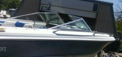 Purchase COMPLETE WINDSHIELD FROM 1990 FORESTER PHANTOM OPEN BOW BOAT PARTING OUT BOAT motorcycle in Faribault, Minnesota, United States, for US $499.99