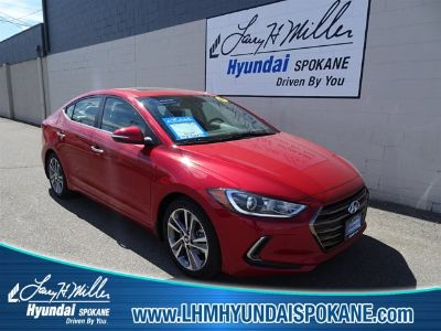 2017 Hyundai Elantra Limited (Scarlet Red)