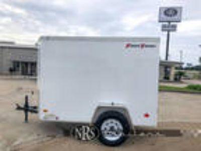5 x8 Enclosed Bumper Pull Cargo TrailerWells Cargo