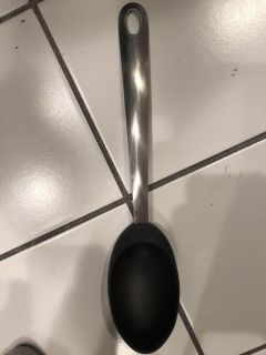 Crate& Barrel large spoon