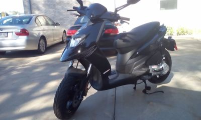 2018 Piaggio Typhoon Moped Mopeds Middleton, WI