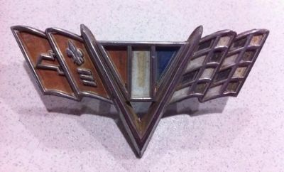 Buy Body Trim Emblem Chevrolet Corvette Nova Impala Camaro Caprice motorcycle in Island Lake, Illinois, US, for US $24.99
