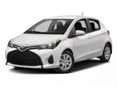 2016 Toyota Yaris 5-Door L (Gray)