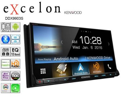 Find Kenwood Excelon Double Din DVD CD Player Car Bluetooth Iphone motorcycle in Oliver Springs, Tennessee, United States, for US $799.99