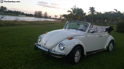 Rare Original 1972 Volkswagen Super Beetle Convert