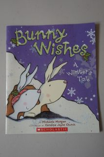 Bunny Wishes A Winter's Tale Paperback Book