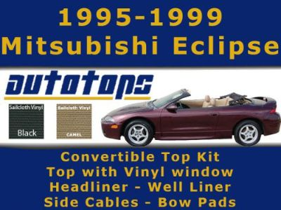 Sell Eclipse Convertible Top with Vinyl Window KIT | COLOR CHOICE | INSTALL VIDEO motorcycle in Shamokin, Pennsylvania, United States, for US $515.00