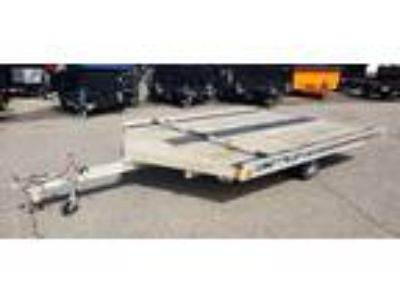 2003 FLOE 10' Drive on/off snowmobile trailer