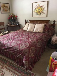 Vintage farmhouse full / double bed