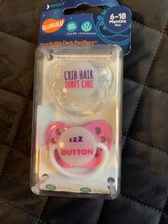 2 new pacifiers