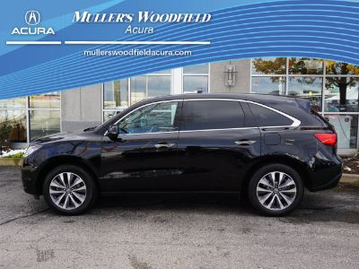 2016 Acura MDX Base w/Tech (Crystal Black Pearl)