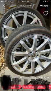 20 rims with tires