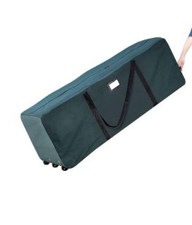 Giant rolling bag - big enough to put a Christmas tree inside