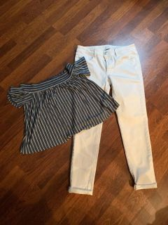 CUTE AMERICAN EAGLE OUTFIT size 8 Medium