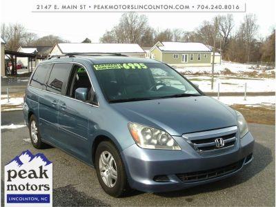 2007 Honda Odyssey EX-L (Lt. Blue)
