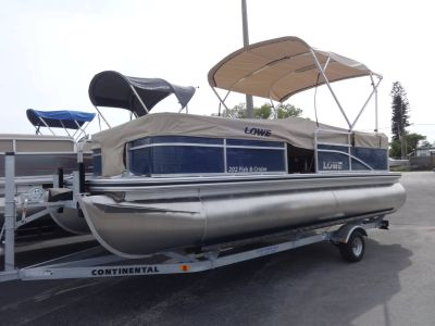 2018 Lowe Ultra Value 202 Fish & Cruise Pontoons Boats Holiday, FL