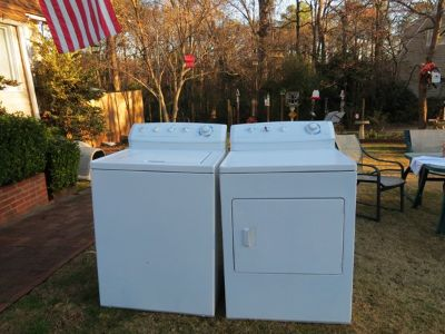 Washer and Dryer price for set-Frigidaire-Huge Tub