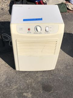 Great Dehumidifier. No longer needed. Great for your trailer or RV. $40.00