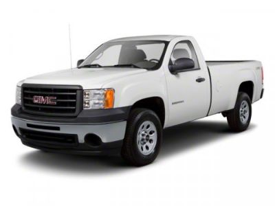 2011 GMC Sierra 1500 Work Truck (Pure Silver Metallic)