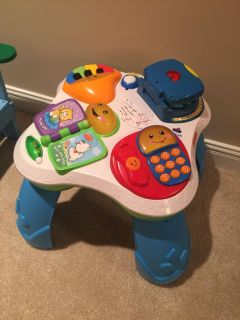 Fisher Price activity table PPU
