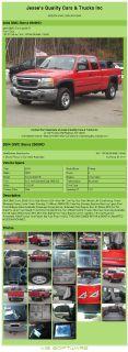 $12,992, 2004 Gmc Sierra 2500hd Ext Cab 4doors 123k Miles 4x4 Tow Pkg Rust Free, Wheels ,air Conditioning; Po