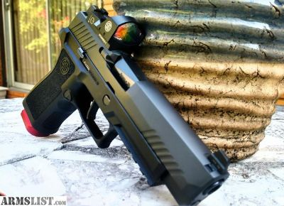 For Sale: Sig Sauer P320RX FS with extras
