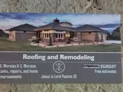 Roofing,exterior painting, stucco repairs. Lawncare...at low cost!!!
