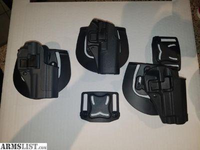 For Sale: Blackhawk SERPA Holsters